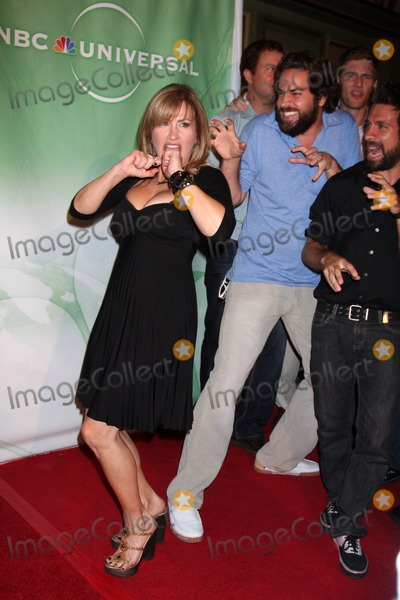 Zach Levi Photo - Lisa Ann Walter  Zach Levi  arriving at the NBC TCA Party at The Langham Huntington Hotel  Spa in Pasadena CA  on August 5 2009
