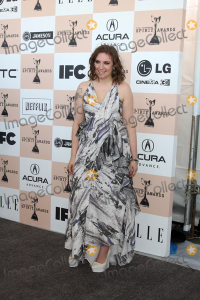 Lena Dunham Photo - LOS ANGELES - FEB 26  Lena Dunham arrives at the 2011 Film Independent Spirit Awards at Beach on February 26 2011 in Santa Monica CA