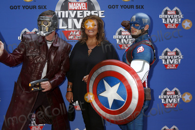 Abby Lee Photo - LOS ANGELES - JUL 8  Star-Lord Abby Lee Miller Captain America at the Marvel Universe Live Red Carpet at the Staples Center on July 8 2017 in Los Angeles CA