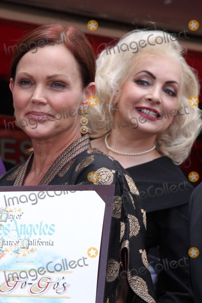 Jane Wiedlin Photo - LOS ANGELES - AUG 11  Belinda Carlisle Jane Wiedlin at the ceremony for The Go-Gos Star on the Hollywood Walk of Fame at Hollywood Blvd on August 11 2011 in Los Angeles CA