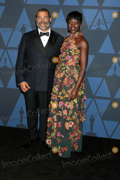 Lupita  Nyongo Photo - LOS ANGELES - OCT 27  Jordan Peele Lupita Nyongo at the 11th Annual Governors Awards at the Dolby Theater on October 27 2019 in Los Angeles CA
