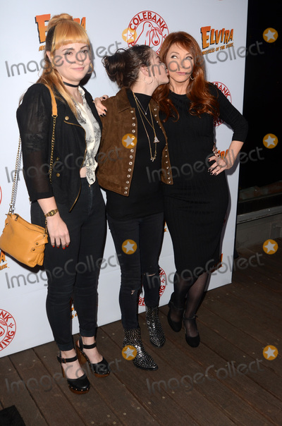 Cassandra Peterson Photo - LOS ANGELES - OCT 17  Chantal Claret Euringer Frances Bean Cobain Cassandra Peterson at the Elvira Mistress Of The Dark Coffin Table Book Launch at Roosevelt Hotel on October 17 2016 in Los Angeles CA