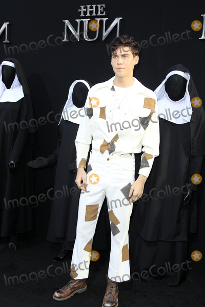 Aidan Alexander Photo - LOS ANGELES - SEP 4  Aidan Alexander at the The Nun World Premiere at the TCL Chinese Theater IMAX on September 4 2018 in Los Angeles CA