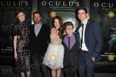 Annalise Basso Photo - LOS ANGELES - APR 3  Karen Gillan Rory Cochrane Annalise Basso Garrett Ryan James Lafferty at the Oculus Los Angeles Screening at the TCL Chinese 6 Theaters on April 3 2014 in Los Angeles CA