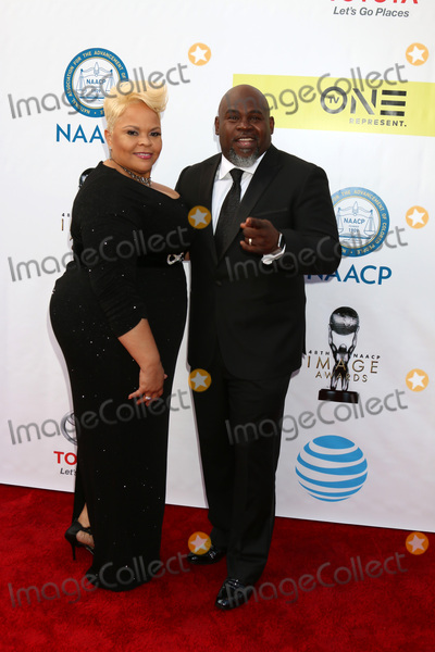 David Mann Photo - LOS ANGELES - FEB 11  Tamela Mann David Mann at the 48th NAACP Image Awards Arrivals at Pasadena Conference Center on February 11 2017 in Pasadena CA