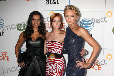 Cassidy Photo - Jessica Lucas Ashlee Simpson Wentz and Katie Cassidy arriving at  Melrose Place Premiere Party on Melrose Place in  Los Angeles CA on August 22 2009