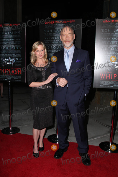 JK Simmons Photo - LOS ANGELES - OCT 6  Michelle Schumacher JK Simmons at the Whiplash Premiere at Bing Theatre At LACMA on October 6 2014 in Los Angeles CA