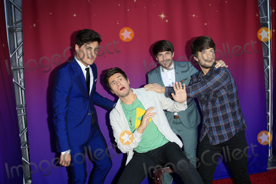 Anthony Padilla Photo - LOS ANGELES - JUL 22  Anthony Padilla Ian Hecox wax figures at the SMOSH THE MOVIE  Premiere at the Village Theater on July 22 2015 in Westwood CA