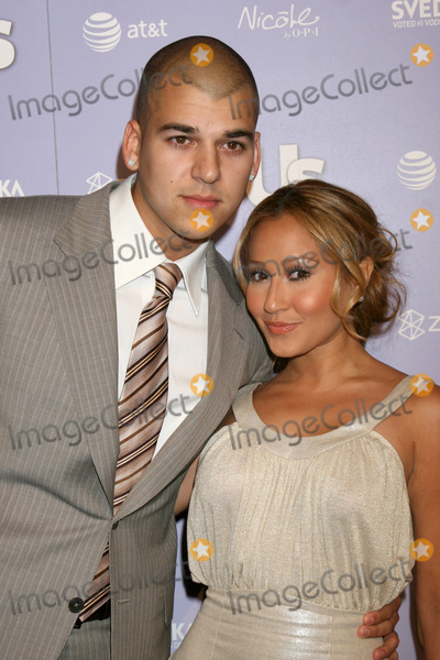Adrienne Bailon Photo - Robert Kardashian Jr  Adrienne Bailonarriving at the Us Hot Hollywood PartyBesoLos Angeles CAApril 17 2008