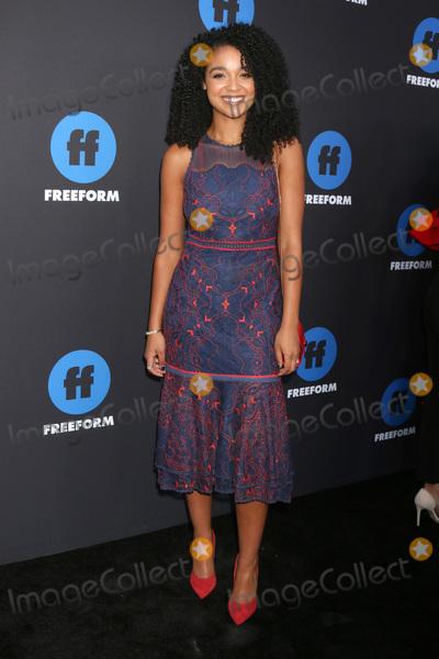 Aisha Dee Photo - LOS ANGELES - JAN 18  Aisha Dee at the Freeform Summit 2018 at NeueHouse on January 18 2018 in Los Angeles CA