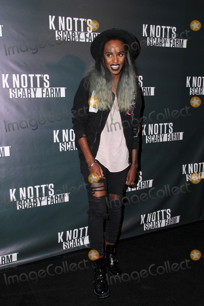 Angel Haze Photo - LOS ANGELES - OCT 3  Angel Haze at the Knotts Scary Farm Celebrity VIP Opening  at Knotts Berry Farm on October 3 2014 in Buena Park CA