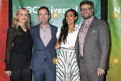 Rosario Dawson Photo - LOS ANGELES - JAN 11  Kim Dickens Andy Greenwald Rosario Dawson and Jay R Ferguson at the NBCUniversal Winter Press Tour at the Langham Huntington Hotel on January 11 2020 in Pasadena CA