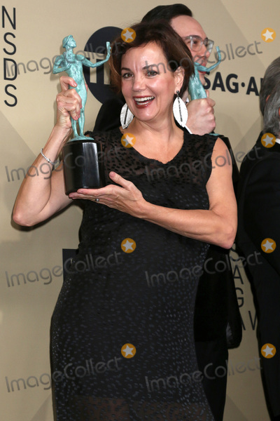 Margaret Colin Photo - LOS ANGELES - JAN 21  Margaret Colin at the 24th Screen Actors Guild Awards - Press Room at Shrine Auditorium on January 21 2018 in Los Angeles CA