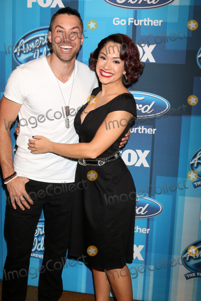 Ace Young Photo - LOS ANGELES - APR 7  Ace Young Diana DeGarmo at the American Idol FINALE Arrivals at the Dolby Theater on April 7 2016 in Los Angeles CA