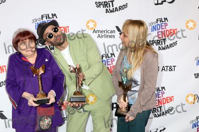 Agnes Varda Photo - LOS ANGELES - MAR 3  Agnes Varda JR Rosalie Varda_ at the 2018 Film Independent Spirit Awards at the Beach on March 3 2018 in Santa Monica CA