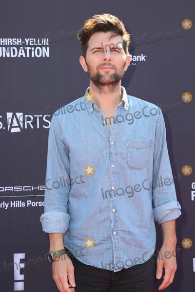Adam Scott Photo - LOS ANGELES - OCT 8  Adam Scott at the PS ARTS Express Yourself 2017 at the Barker Hanger on October 8 2017 in Santa Monica CA