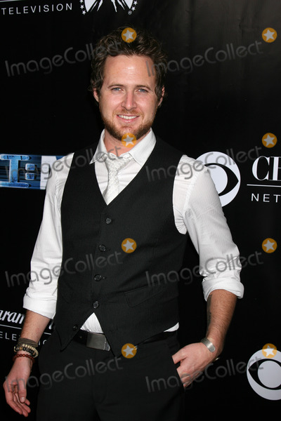 AJ Buckley Photo - AJ Buckley arriving at the CSI New York 100th Show Party at the Edison Hotel in Los Angeles CA on November 1 2008