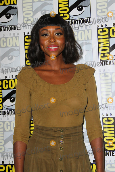 Amanda Warren Photo - SAN DIEGO - July 21  Amanda Warren at the The Purge Press Line at the Comic-Con International on July 21 2018 in San Diego CA