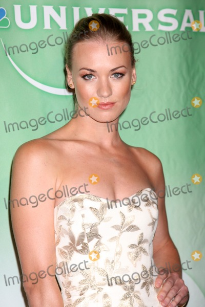 Adam Baldwin Photo - Yvonne Strahovski  arriving at the NBC TCA Party at The Langham Huntington Hotel  Spa in Pasadena CA  on August 5 2009