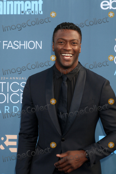 Aldis Hodge Photo - LOS ANGELES - DEC 11  Aldis Hodge at the 22nd Annual Critics Choice Awards at Barker Hanger on December 11 2016 in Santa Monica CA
