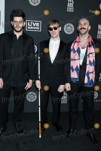 Sam Harris Photo - LOS ANGELES - JAN 4   Adam Levin Casey Harris and Sam Harris - X Ambassadors at the Art of Elysium Gala - Arrivals at the Hollywood Palladium on January 4 2020 in Los Angeles CA