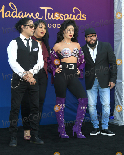 A B Quintanilla Photo - LOS ANGELES - AUG 30  Chris Perez Suzette Quintanilla Selena Quintanilla Wax Figure AB Quintanilla at the Selena Quintanilla Wax Figure Unveiling at the Madame Tussauds Hollywood on August 30 2016 in Los Angeles CA