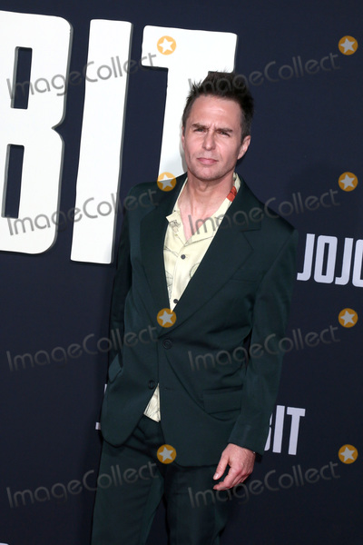 Sam Rockwell Photo - LOS ANGELES - OCT 15  Sam Rockwell at the Jojo Rabbit Premiere at the American Legion Post 43 on October 15 2019 in Los Angeles CA