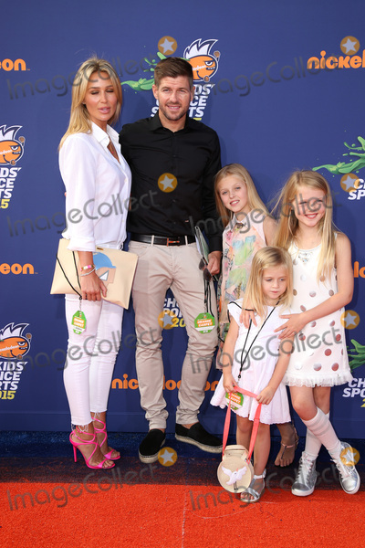 Alex Gerrard Photo - SAN DIEGO - JUL 16  Alex Gerrard Steven Gerrard at the 2015 Kids Choice Sports at the UCLAs Pauley Pavilion on July 16 2015 in Westwood CA