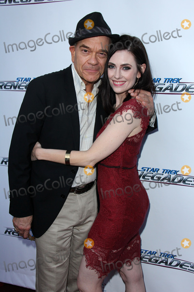 Adrienne Wilkinson Photo - LOS ANGELES - AUG 1  Robert Picardo Adrienne Wilkinson at the Star Trek Renegades Premiere at the Crest Theater on August 1 2015 in Westwood CA