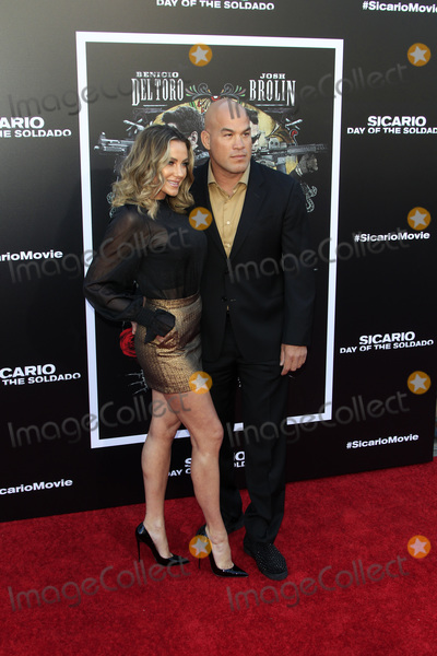 Nicole Miller Photo - LOS ANGELES - JUN 26  Amber Nicole Miller Tito Ortiz at the Sicario Day Of The Soldado Premiere at the Village Theater on June 26 2018 in Westwood CA