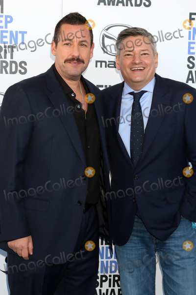 Adam Sandler Photo - LOS ANGELES - FEB 8  Adam Sandler Ted Sarandos at the 2020 Film Independent Spirit Awards at the Beach on February 8 2020 in Santa Monica CA