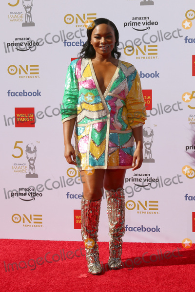 Chyna Layne Photo - LOS ANGELES - MAR 30  Chyna Layne at the 50th NAACP Image Awards - Arrivals at the Dolby Theater on March 30 2019 in Los Angeles CA
