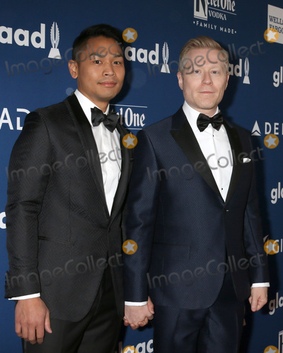 Anthony Rapp Photo - LOS ANGELES - APR 12  Ken Ithiphol Anthony Rapp at GLAAD Media Awards Los Angeles at Beverly Hilton Hotel on April 12 2018 in Beverly Hills CA
