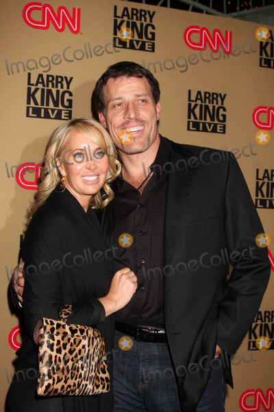 Tony Robbins Photo - LOS ANGELES - DEC 16  Tony Robbins  wife arrives at CNNs Larry King Live final broadcast party at Spago on December 16 2010 in Beverly HIlls CA