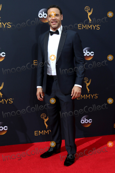 Daniel Sunjata Photo - LOS ANGELES - SEP 18  Daniel Sunjata at the 2016 Primetime Emmy Awards - Arrivals at the Microsoft Theater on September 18 2016 in Los Angeles CA