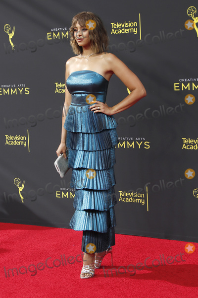 Amber Stevens Photo - LOS ANGELES - SEP 14  Amber Stevens West at the 2019 Primetime Emmy Creative Arts Awards at the Microsoft Theater on September 14 2019 in Los Angeles CA