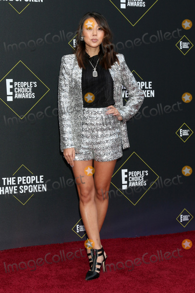 Victoria Park Photo - LOS ANGELES - NOV 10  Victoria Park at the 2019 Peoples Choice Awards at Barker Hanger on November 10 2019 in Santa Monica CA