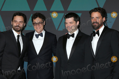 Chris Miller Photo - LOS ANGELES - NOV 18  Jake Johnson Phil Lord Chris Miller Bob Persichetti at the 10th Annual Governors Awards at the Ray Dolby Ballroom on November 18 2018 in Los Angeles CA