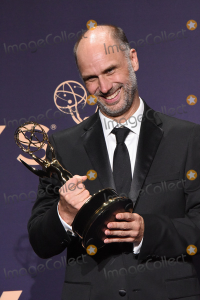 Jesse Armstrong Photo - LOS ANGELES - SEP 22  Jesse Armstrong at the Emmy Awards 2019 PRESS ROOM at the Microsoft Theater on September 22 2019 in Los Angeles CA