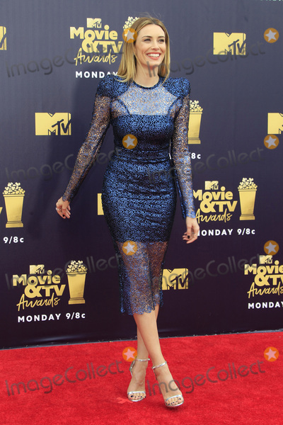 Arielle Vandenberg Photo - LOS ANGELES - JUN 16  Arielle Vandenberg at the 2018 MTV Movie And TV Awards at the Barker Hanger on June 16 2018 in Santa Monica CA