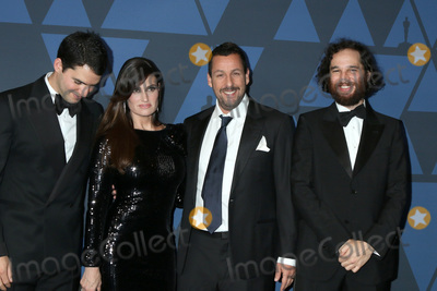 Adam Sandler Photo - LOS ANGELES - OCT 27  Benny Safdie Idina Menzel Adam Sandler Josh Safdie at the 11th Annual Governors Awards at the Dolby Theater on October 27 2019 in Los Angeles CA