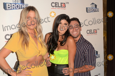 Analyse Talavera Photo - LOS ANGELES - SEP 26  Christie Murphy Analyse Talavera Tommy Bracco at the Big Brother 21 Finale Party at the Edison on September 26 2019 in Los Angeles CA