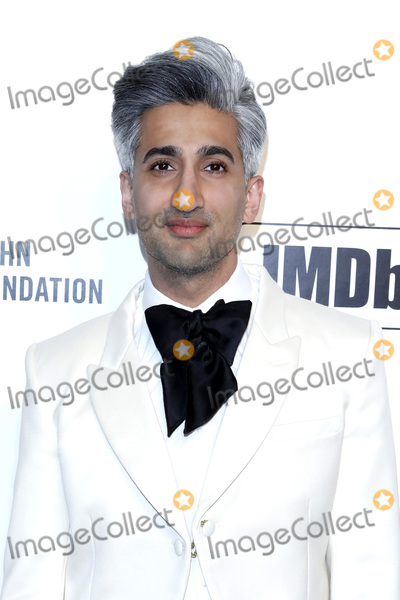 Tan France Photo - LOS ANGELES - FEB 9  Tan France at the 28th Elton John Aids Foundation Viewing Party at the West Hollywood Park on February 9 2020 in West Hollywood CA