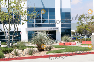 The Amazons Photo - LOS ANGELES - APR 11  Amazon Fulfillment Center Exterior at the Businesses Responding to COVID-19 at the Amazon Fulfillment Center on April 11 2020 in San Bernardino CA