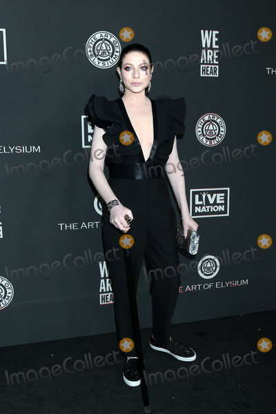 Michelle Trachtenberg Photo - LOS ANGELES - JAN 4  Michelle Trachtenberg at the Art of Elysium Gala - Arrivals at the Hollywood Palladium on January 4 2020 in Los Angeles CA