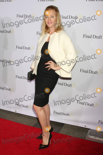 Angela Featherstone Photo - LOS ANGELES - FEB 12  Angela Featherstone at the 10th annual Final Draft Awards at a Paramount Theater on February 12 2015 in Los Angeles CA
