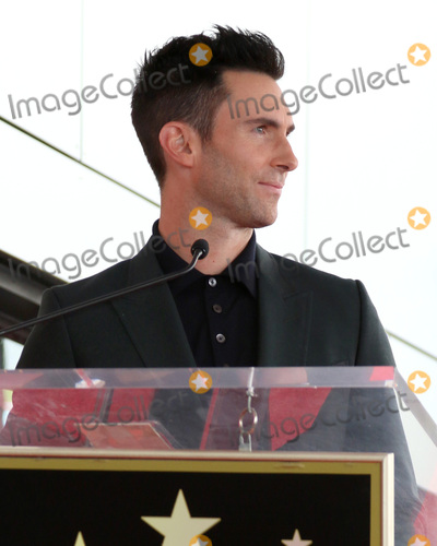 Adam Levine Photo - LOS ANGELES - FEB 10  Adam Levine at the Adam Levine Hollywood Walk of Fame Star Ceremony at Musicians Institute on February 10 2017 in Los Angeles CA