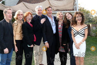 Michael E Knight Photo - LOS ANGELES - JAN 5  Laurence Lau Jill Larson Kathleen Noone Michael E Knight Peter Bergman Tayor Miller Kim Delaney Susan Lucci sining Happy Birthday to Vasili Bogazianos via video message at the All My Children Reunion on Home and Family Show at Universal Studios on January 5 2017 in Los Angeles CA