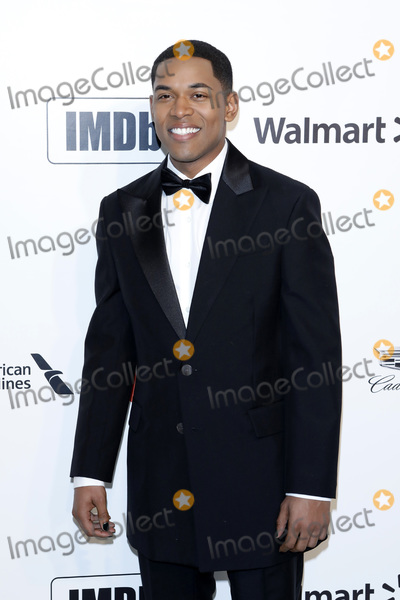 Elton John Photo - LOS ANGELES - FEB 9  Kelvin Harrison Jr at the 28th Elton John Aids Foundation Viewing Party at the West Hollywood Park on February 9 2020 in West Hollywood CA