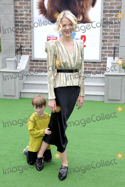 Jaime King Photo - LOS ANGELES - JUN 2  Leo Newman Jaime King at the The Secret Life of Pets 2 Premiere at the Village Theater on June 2 2019 in Westwood CA